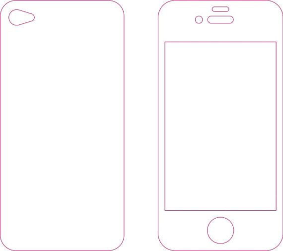 iphone 5 sticker template - iphone 4s skin template choice image template design ideas