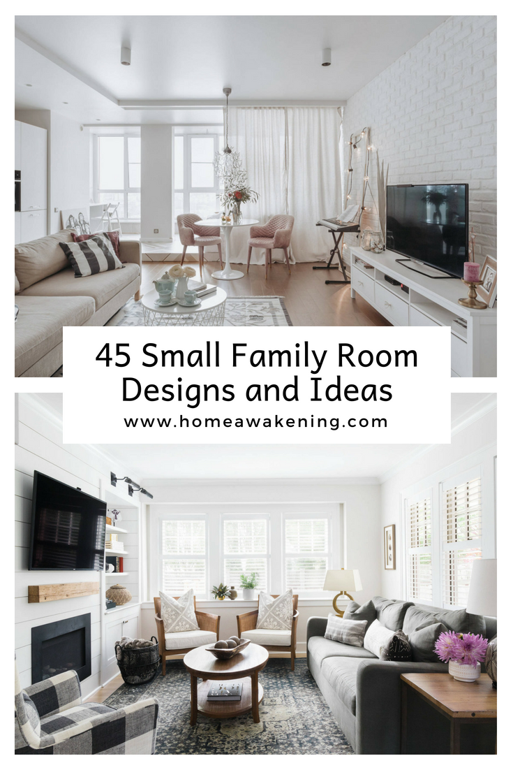 45 Small Family Room Designs And Ideas With Images Small