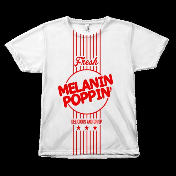 Melanin Poppin Melanin Poppin High Quality T Shirts Melanin