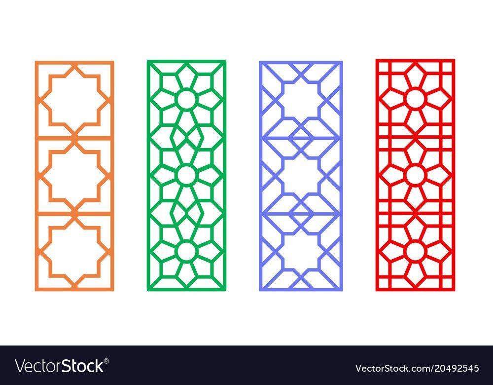 Pin by mano md on Ramadan   Window frames, Linear pattern