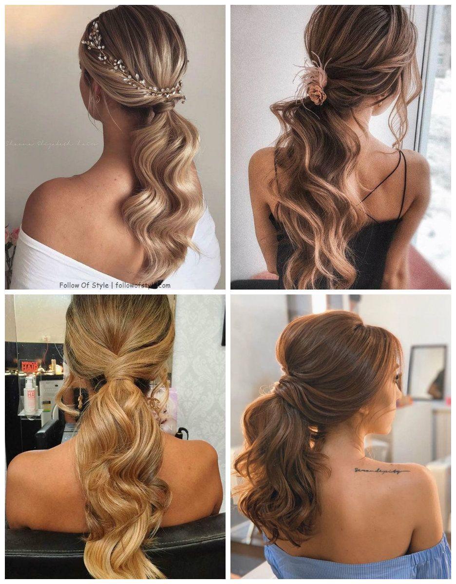 Fryzury Z Kucykiem Na Wesele Hair Beauty Hair Styles Hair