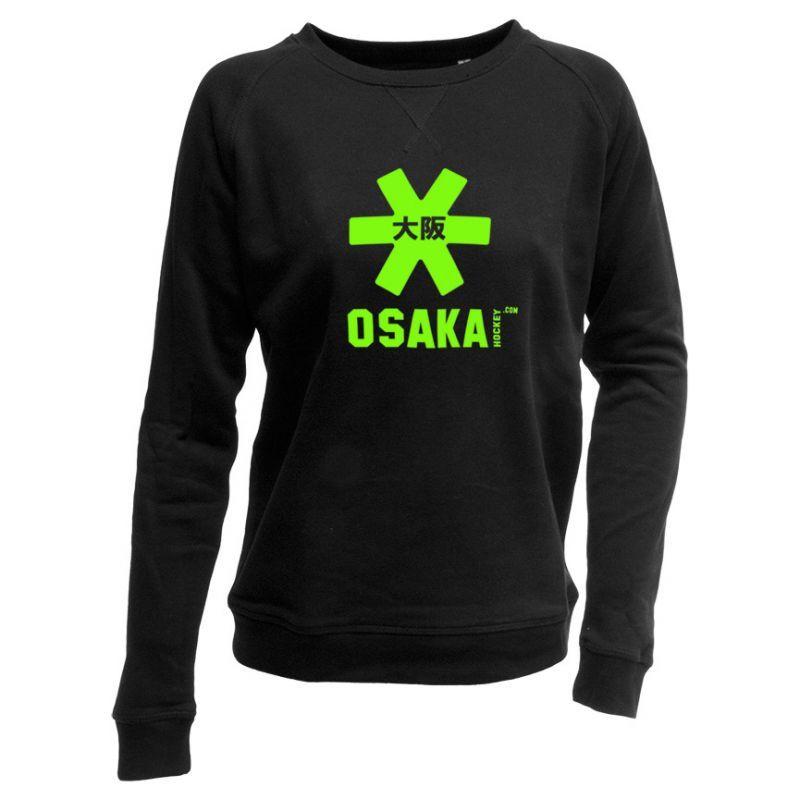 3eb08b6ea16 Women's Original Fluo Green Logo Sweater - Osaka Hockey Europe ...