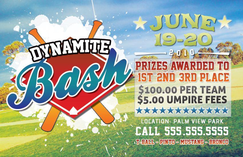 Baseball Tournament Flyer By Rgvmonster Deviantart Com On Deviantart Baseball Tournament Softball Tournaments Tournaments