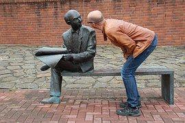 Man, Sculpture, Art, Wonders, Talk