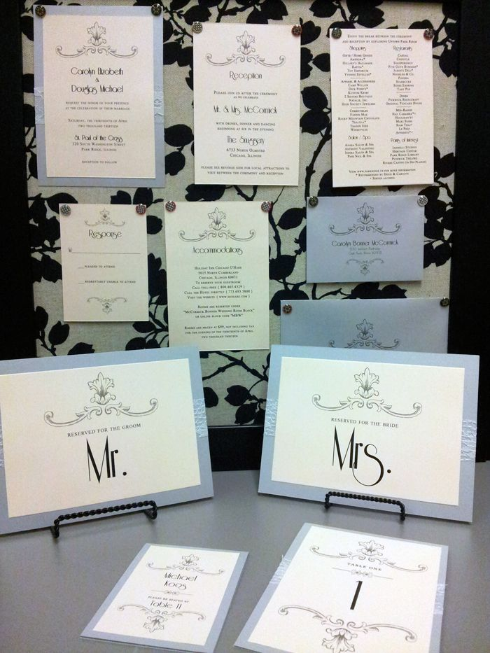 romantic, lace, vintage, 1930s wedding invitations, silver, blush ...