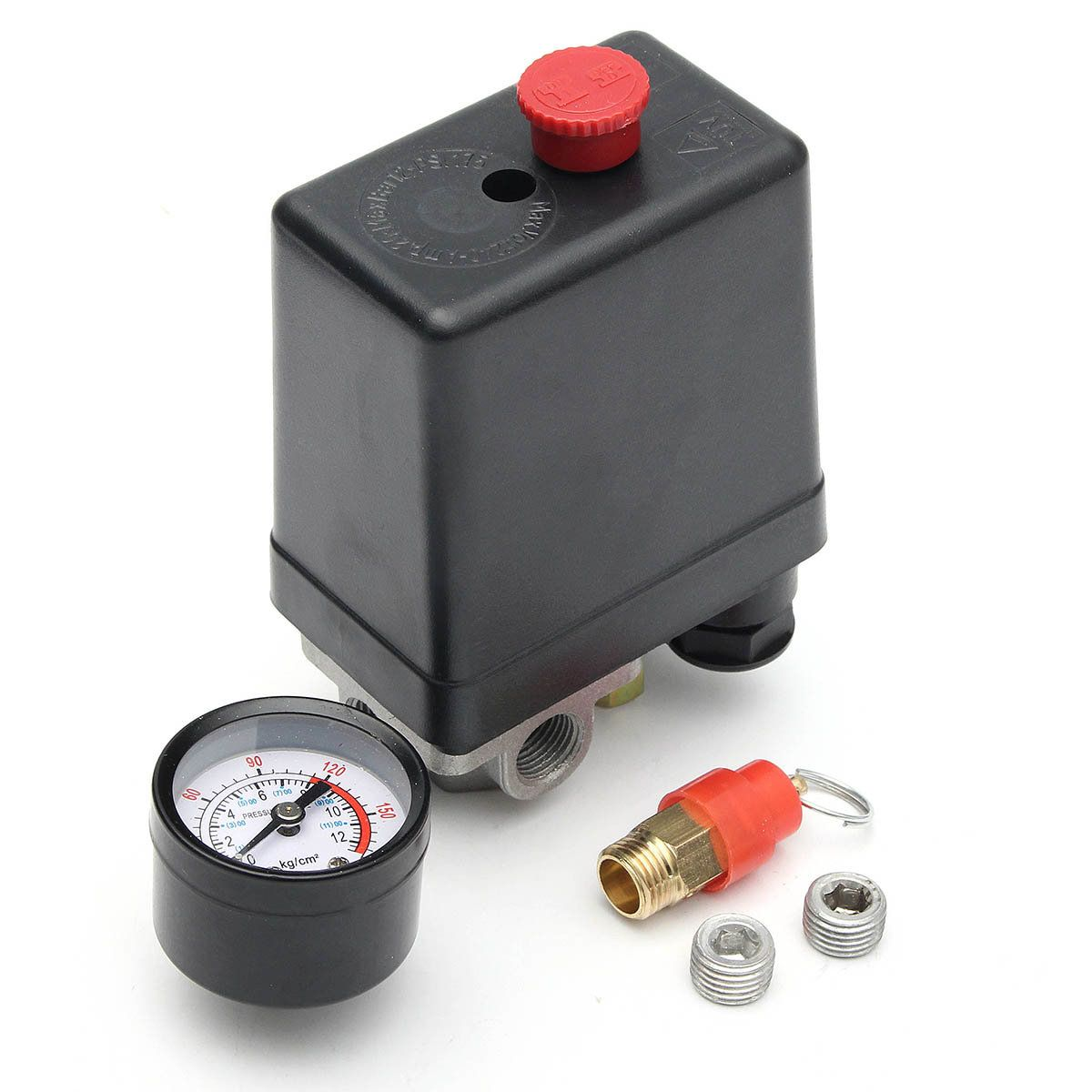 220v 14inch bsp 4 port single phase air compressor pressure switch 220v 14inch bsp 4 port single phase air compressor pressure switch with safety valve publicscrutiny Gallery