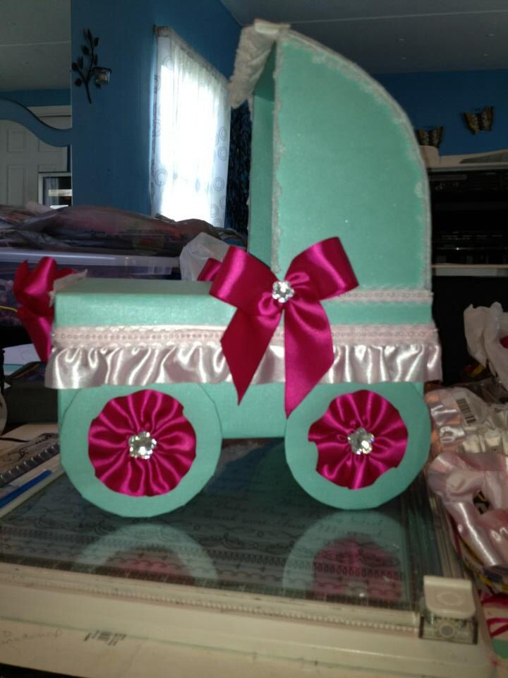 Baby Shower And Gift Card Box My Creations Pinterest Baby