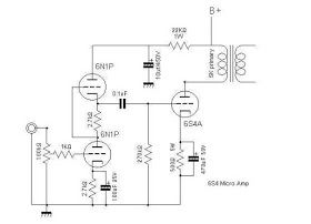 Wiring Schematic Diagram: Tube 6S4A + 6N1P 5WATT HI-FI