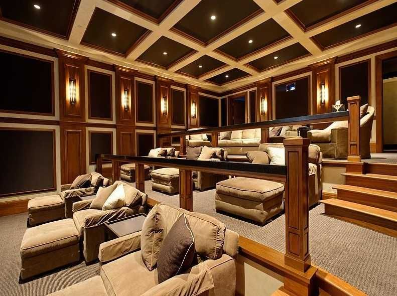 A Billionaire Mansions Movie Room - The Newest Must Have In ...