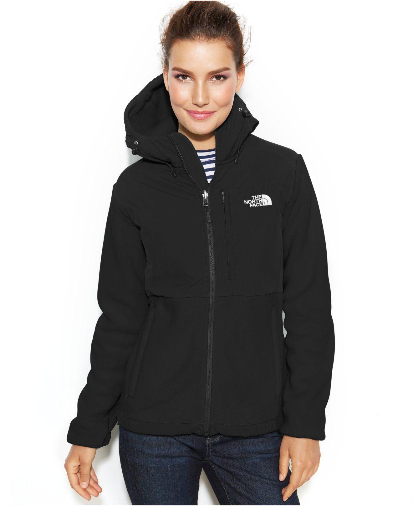 The North Face Hooded Denali Fleece Jacket Reviews Jackets Blazers Women Macy S Blazer Jackets For Women Fleece Jacket The North Face [ 1616 x 1320 Pixel ]
