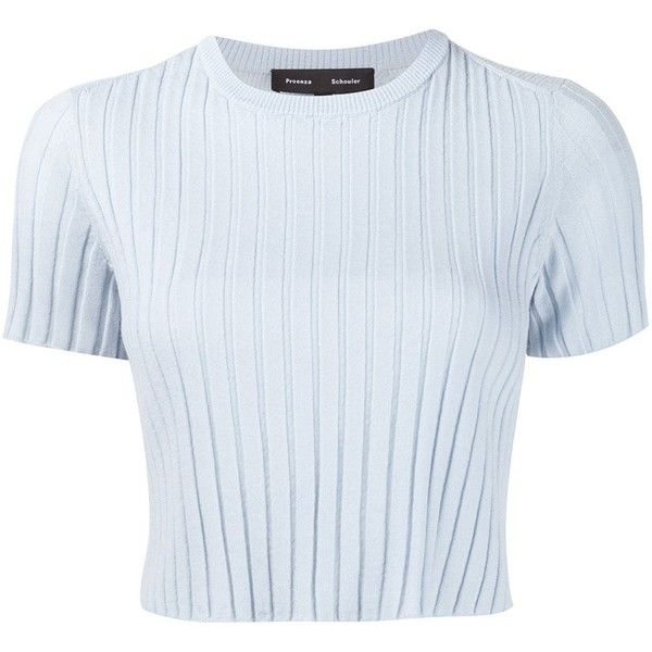 Proenza Schouler cropped sweater ($730) ❤ liked on Polyvore ...