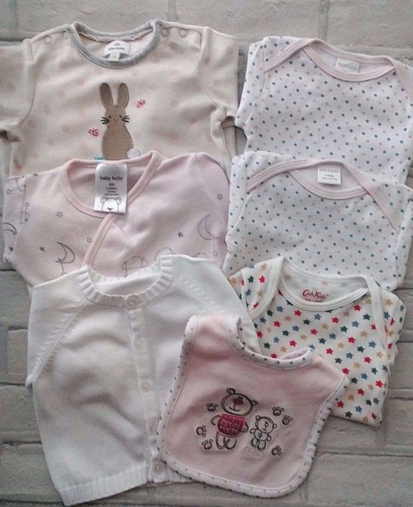 Baby Girls Clothes Bodysuits Sleepsuits Bibs 0-3 Months Girls' Clothing (newborn-5t) Clothing, Shoes & Accessories