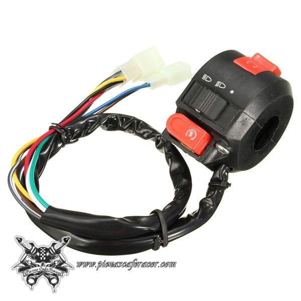 Interruptor Piña de Luces Moto Manillar 22mm Luces Intermitentes Pare de Motor - 7,97€ - ENVÍO GRATUITO EN TODOS LOS PEDIDOS