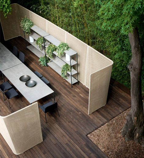Eetkamer Nina Abri Outdoor Elements - Define Outdoor Spaces Via