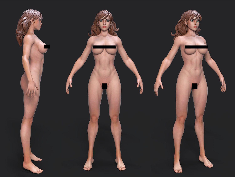 Model I\'m working on based on Stanley Artgerm Lau\'s art. | X76 ...