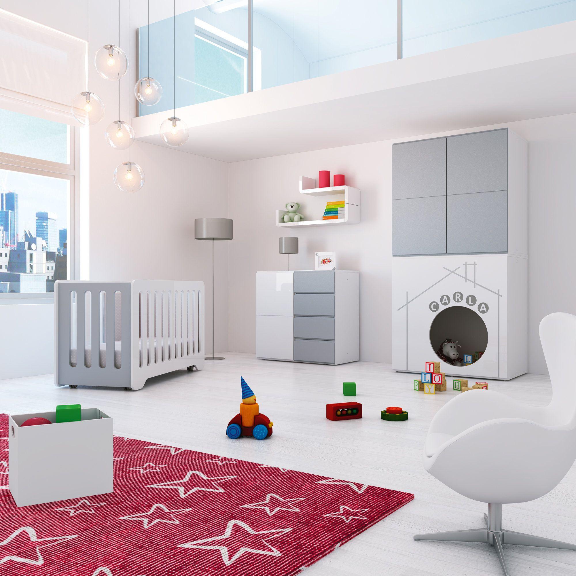 Habitaciones infantiles de dise o para beb s modular play for Diseno de habitaciones infantiles