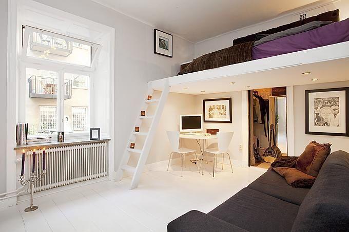 Mezanino quarto pequeno
