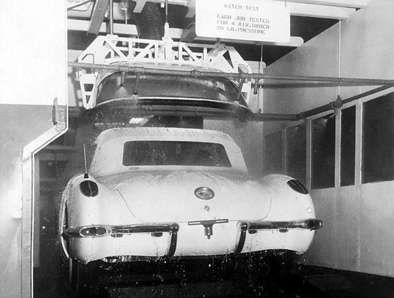 1959 Chevrolet Corvette Production Plant St Louis Missouri