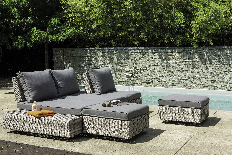 Ibiza Lounge Set Suns Blue Collection