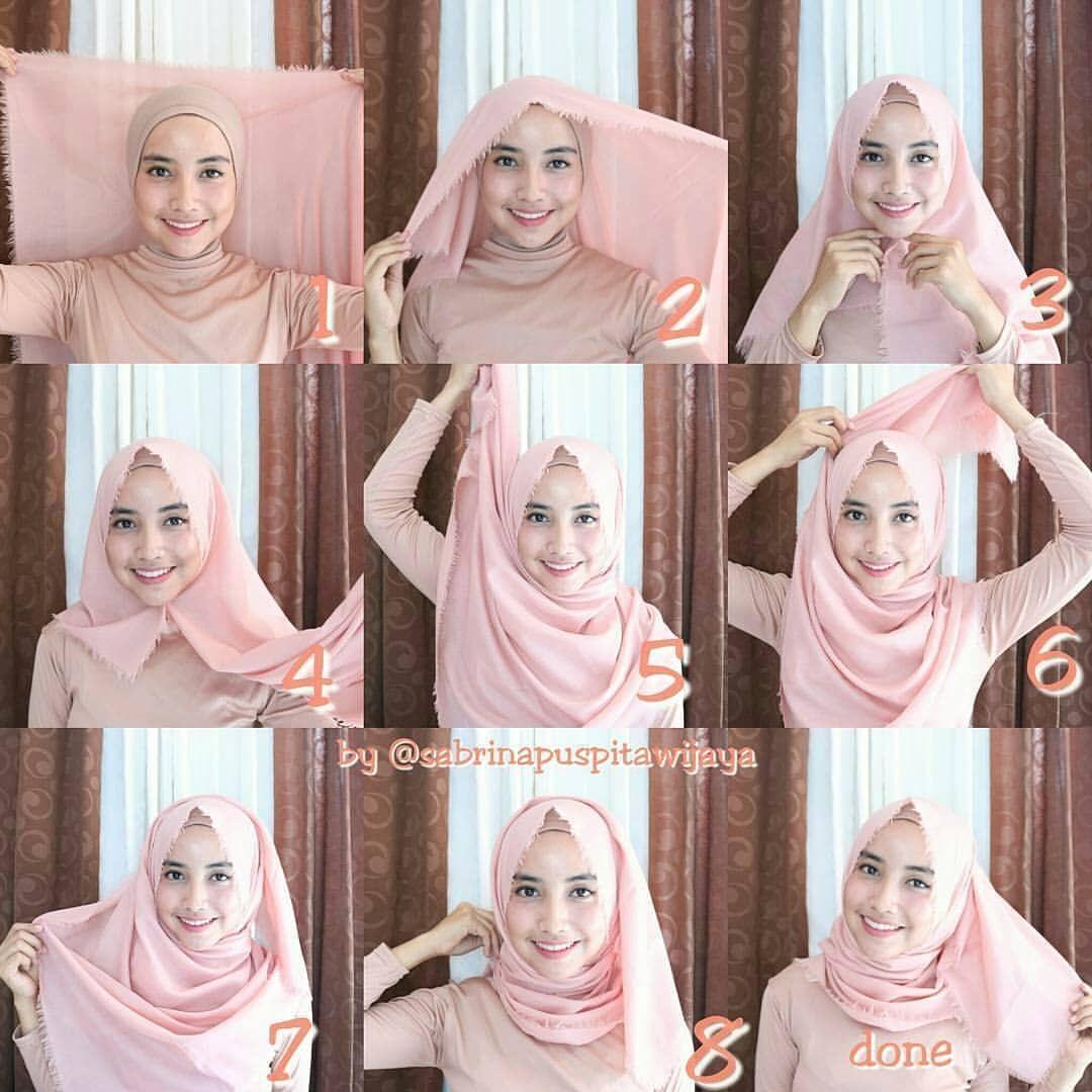 Tutorial Hijab Segi Empat Untuk Jilbab Saudia Empat Hijab Jilbab Saudia Segi Tutorial Untuk Tutorial Hijab Pashmina Tutorial Hijab Mudah Gaya Hijab