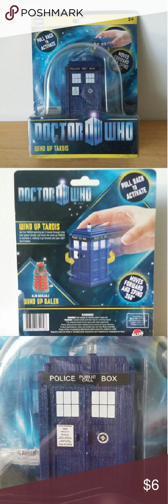 Doctor Who Wind-up TARDIS BRAND NEW