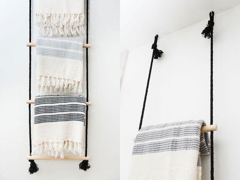 Photo of Porta asciugamani da bagno: le idee più creative da inviare   Dettagli Home Decor