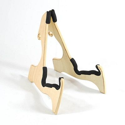 Frederick Folding Wooden Guitar Stand - Natural