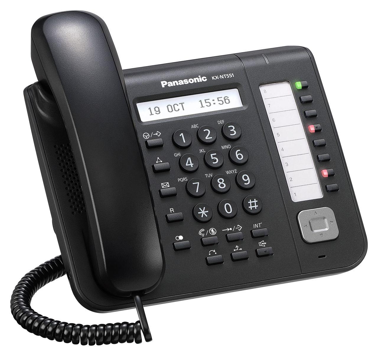 Panasonic business telephones kxnt543