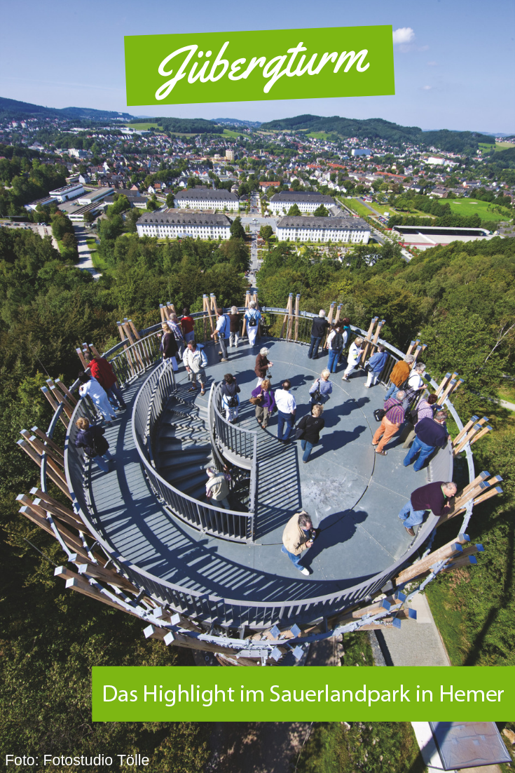 Jubergturm In Hemer Sauerland Ausflug Urlaub Reisen