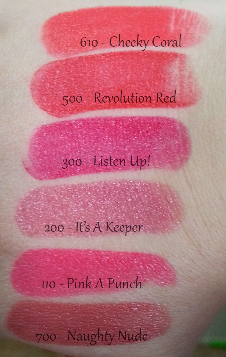 Rimmel The Only 1 Lipstick Swatches & Review Lipstick