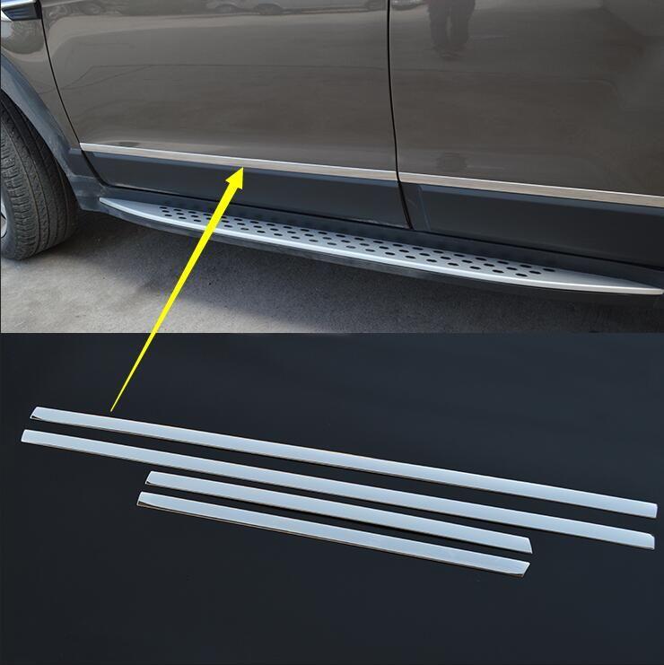 Lane Legend Case For Chevrolet Captiva 2008 2017 High Quality Stainless Steel Body Side Moldings Side Door Decoration Side Door Chevrolet Captiva Steel