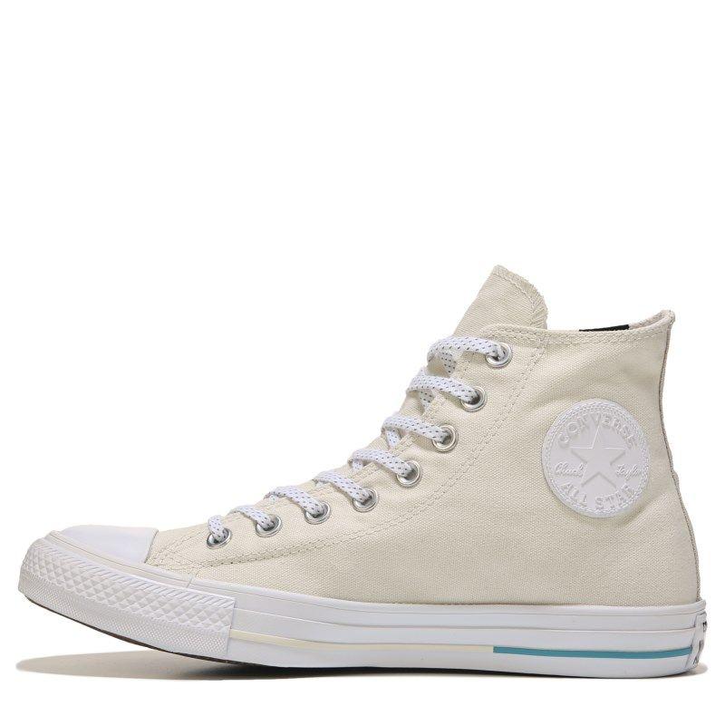 bbde2120ef86c8 Converse Chuck Taylor All Star Shield Canvas High Top Sneakers (Buff Aqua White)  - 6.0 M