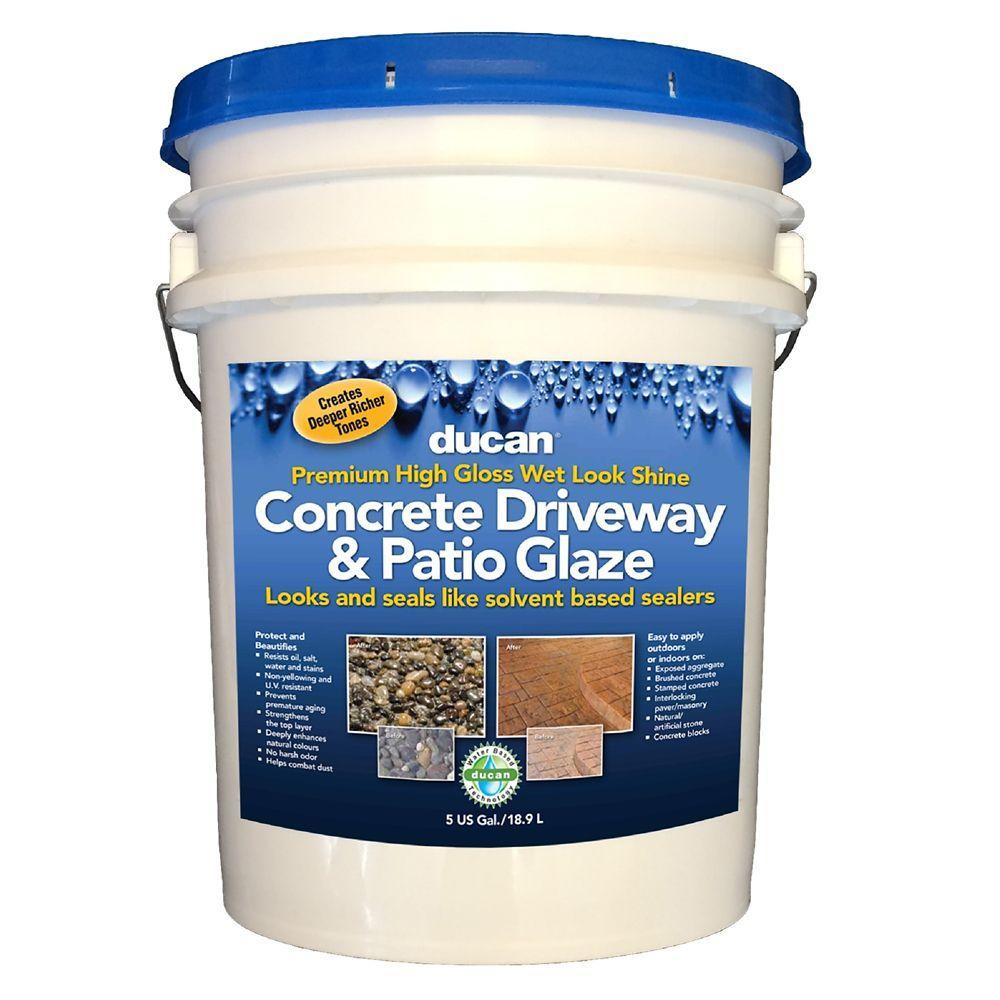 Premium Concrete Driveway & Patio Glaze is a superior