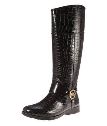 31260c1336f MICHAEL Michael Kors Bottes en caoutchouc - noir prix promo Zalando 150.00  € TTC