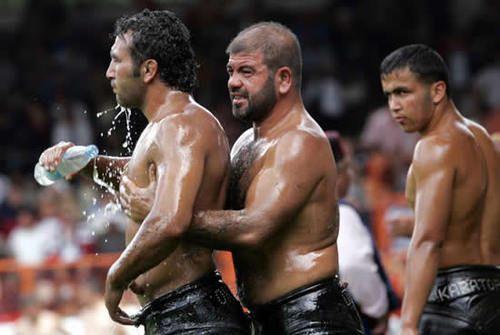 turkish oil wrestling | Wrestling, Sports, Turkish