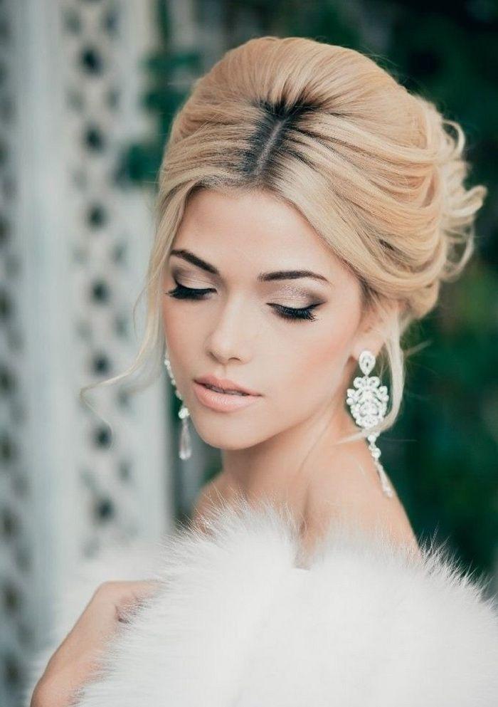 schminken 22 ideen f rs braut make up hochzeit makeup wedding makeup and wedding. Black Bedroom Furniture Sets. Home Design Ideas