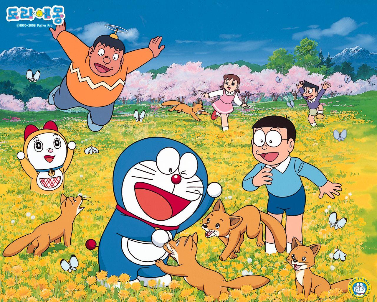 Doraemon friends dora in