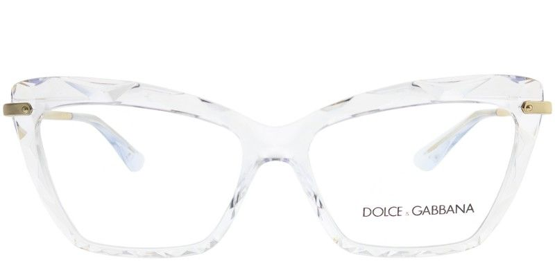 Dolce   Gabbana DG 5025 3133 Crystal Cat Eye Plastic Eyeglasses ... 86f863697b