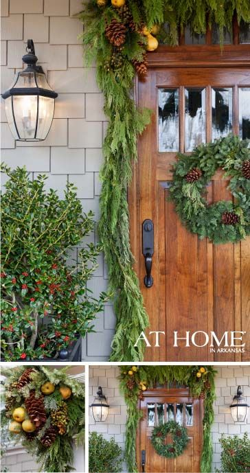 A Holiday Welcome At Home in Arkansas Christmas Pinterest