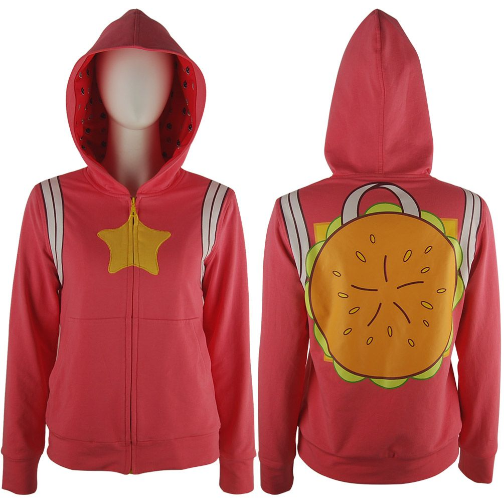 steven universe cheeseburger jacket hoodie cosplay halloween costume xmas gift animated tv costume for women girls