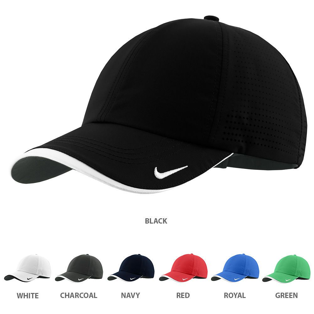 211feb4d5e5 Nike Authentic Dri-Fit Low Profile Swoosh Embroidered Perforated Baseball Ca