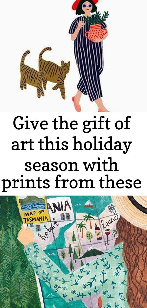 Give the gift of art this holiday season with prints from these 10 women artists 2 Give The Gift Of Art This Holiday Season With Prints From These 10 Women Artists  The G...