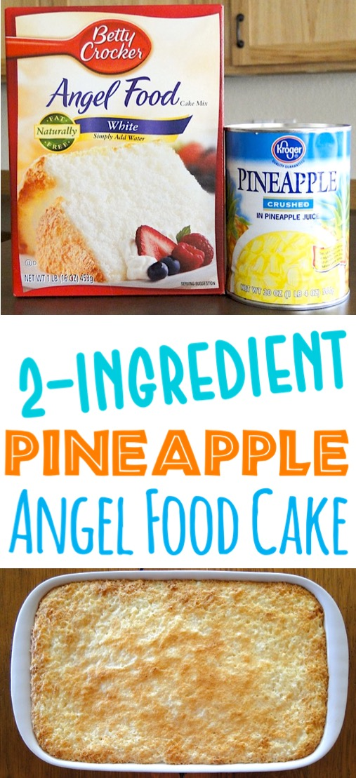 Pineapple Cake Recipe Easy Homemade Dump Cake With Crushed