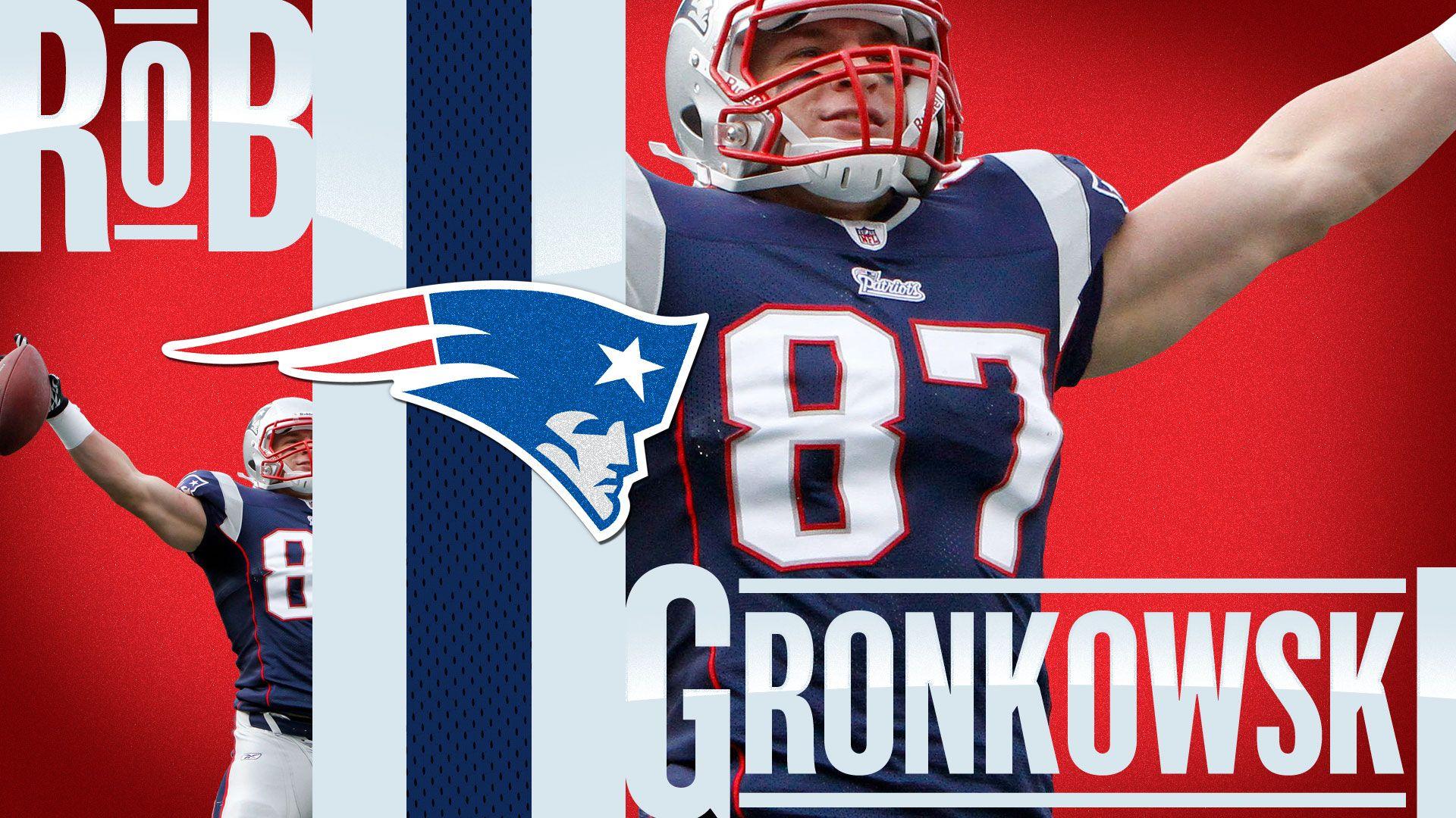 Rob Gronkowski New England Patriots Desktop 4K Wallpapers