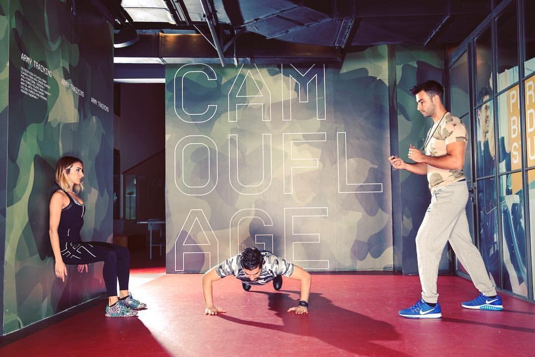 #ColiseumClass: Askeri disiplinli antrenman yapmak istiyorsan, Military Training ile yüksek kalori yakımı ve kas kazanımı sağlayabilirsin.