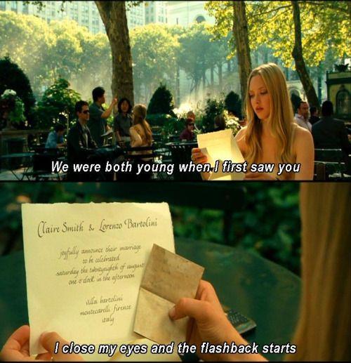 Letters To Juliet, Favorite