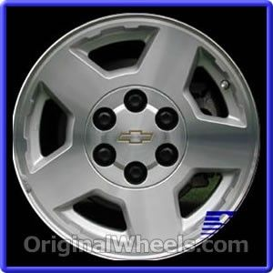 Chevrolet Tahoe Wheel Part Number 5196 Chevy Silverado Parts Chevrolet Silverado Silverado Wheels