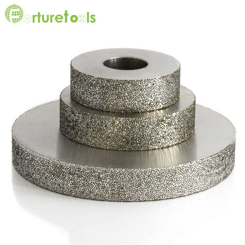 4 Inch 1a1 Plated Diamond Abrasive Grinding Wheel For Tungsten Steel China Diamond Tools Manufacturer Grit 60 600 Tungsten Steel Resin Bond High Speed Steel