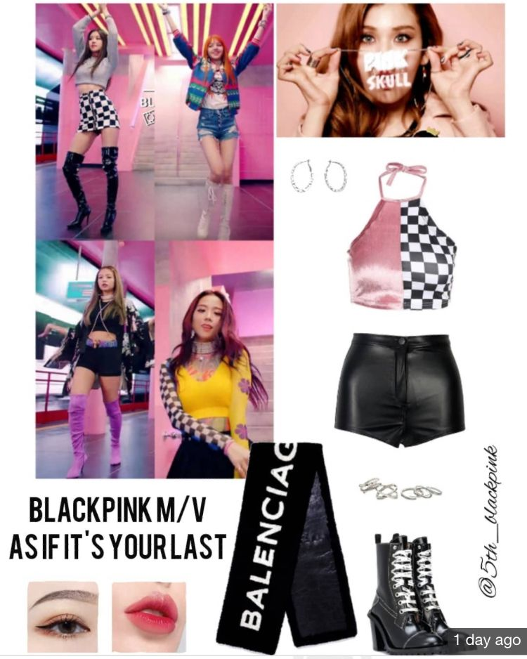 Blackpink Member As If It S Your Last M V Ropa Kpop