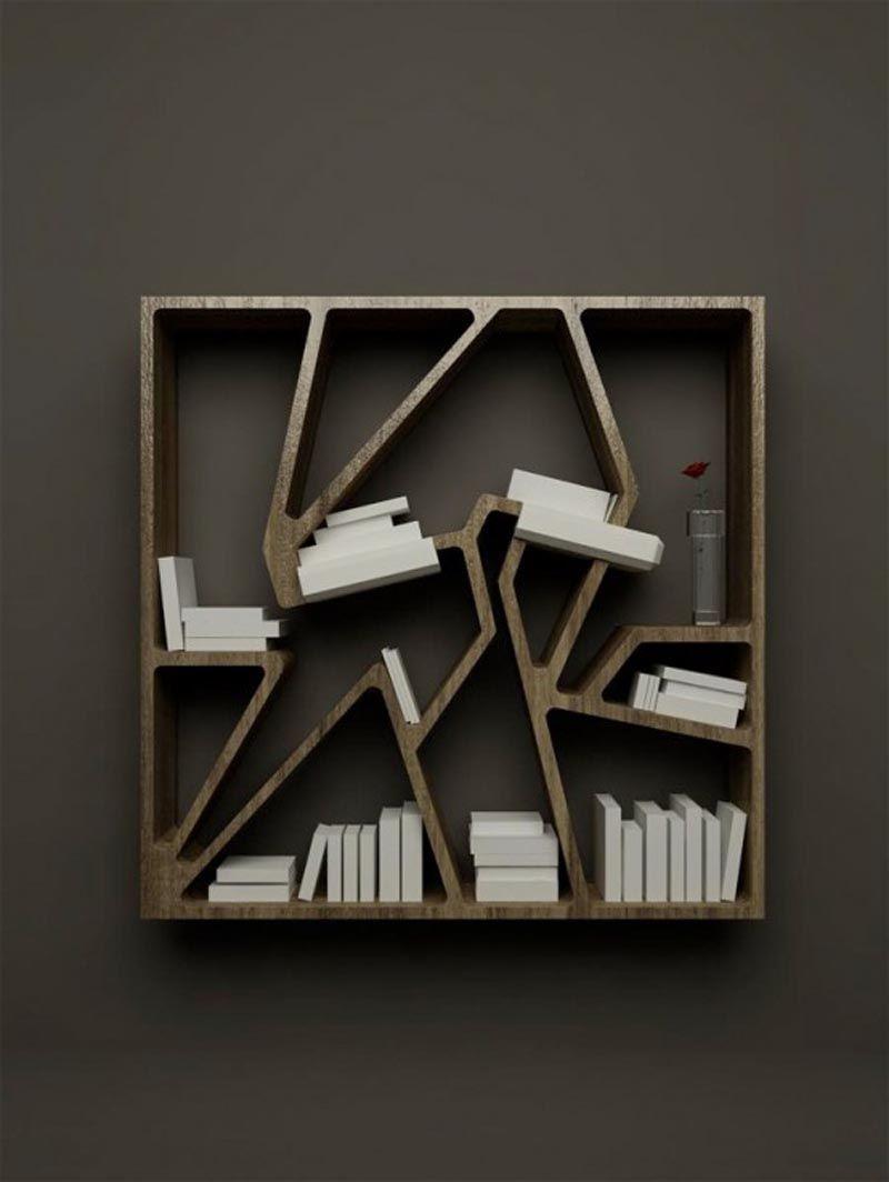 Fascinating Modern Book Shelves, Bookcase Design, Cheap And Modern ...
